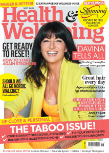 Health and Wellbeing September 2021 Front Cover.