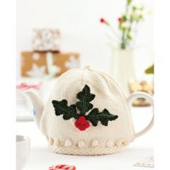 Holly Leaf Teacosy Knitting Pattern