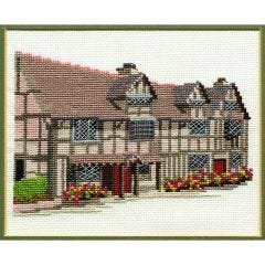 Shakespeare's Birthplace Counted Cross Stitch Kit