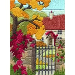 Autumn Garden Long Stitch Kit