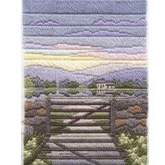 Spring Evening Long Stitch Kit