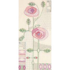 Mackintosh - Morning Rose Counted Cross Stitch Kit