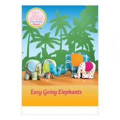 Stuffed Elephant Toys Sewing Pattern