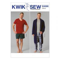 Pyjamas and Robe Sewing Pattern
