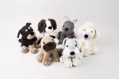 Knitted Dera-Dogs in Deramores Studio DK - By Amanda Berry