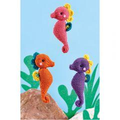 Seahorses Knitting Pattern