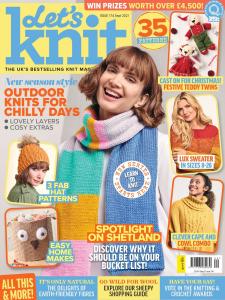 Let's Knit September 2021 Front Cover
