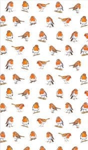 Little Robins Tea Towel