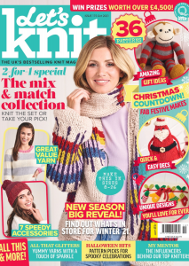 Let's Knit October 2021 Cover