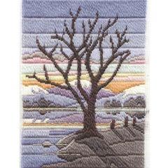 Winter Evening Long Stitch Kit