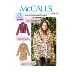 Fur Coat Sewing Pattern