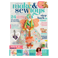 Make & Sew Toys Magazine Subscription