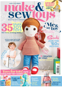 Make and Sew Toys Issue 3 Cover