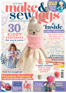 Make and Sew Toys Issue 5 Cover