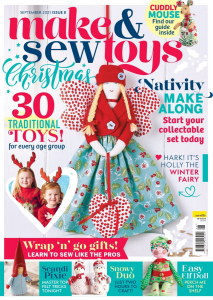 Make and Sew Toys Christmas Issue 8