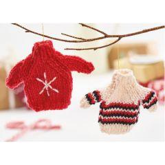 Mini Christmas Jumpers Knitting Pattern