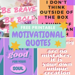 FREE Motivational Craft Quotes Posters