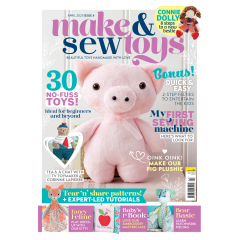 Make & Sew Toys Issue 4