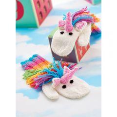 Mystical Unicorn Mittens Knitting Pattern