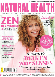 Natural Health August 2021 Front Cover.