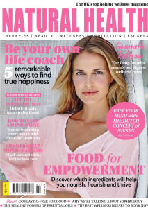 Natural Health July 2021 Front Cover.