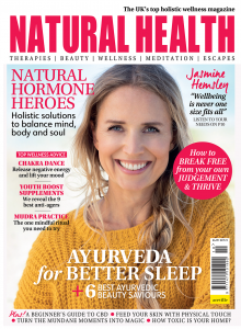 Natural Health October Cover