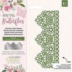Natures Garden - Metal Die - Intricate Floral Border