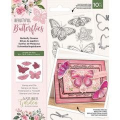 Natures Garden - Stamp and Die - Butterfly Dreams