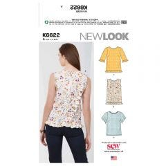 New Look 6622 Pattern