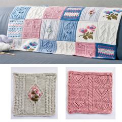 Debbie Bliss Primavera Blanket Pattern Part 2