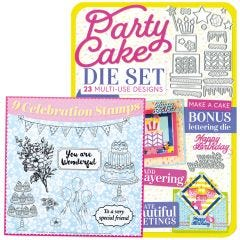 Party Celebrations Die and Stamp Set