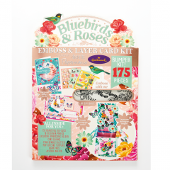 Docrafts Papermania Bluebirds and Roses Cardmaking Kit
