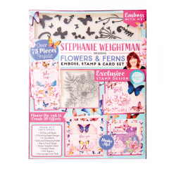 Stephanie Weightman Flowers and Ferns Cardmaking Kit