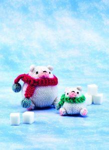 Polar Bears Knitting Pattern