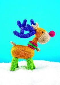 Rupert Reindeer Knitting Pattern