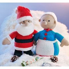 Santa and Mrs Claus Pattern