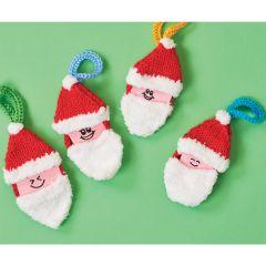 Santa Portraits Knitting Pattern