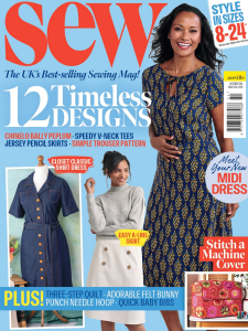 Sew Mag October 2021 Front Cover
