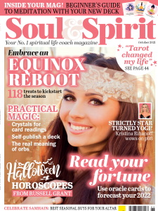 Soul and Spirit Oct 21 Cover