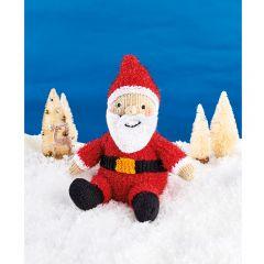 Sparkly Santa Downloadable Knitting Pattern
