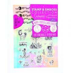Enchanted Meadow Stamp & Emboss Set