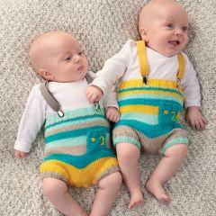 Stripy Shorts Knitting Pattern