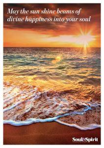 Sun Shine Beams Poster