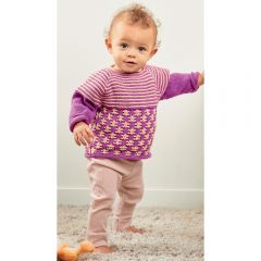 Sweet Pea Jumper Knitting Pattern