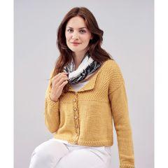 Textured Cardigan Knitting Pattern