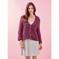 Women's Textured Cardigan Knitting Pattern