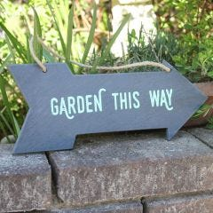 This Way to the Garden Sign