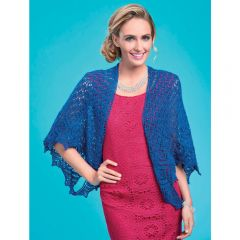 Two Way Sparkly Shawl Knitting Pattern