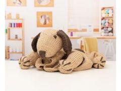 Knitted Babies Pram Dog Blanket by Nicola Valiji in Deramores Studio Chunky