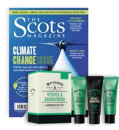 The Scots Magazine Subscription (Sandalwood Shaving Set)